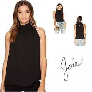 Joie Erola Sleeveless Silk Blouse